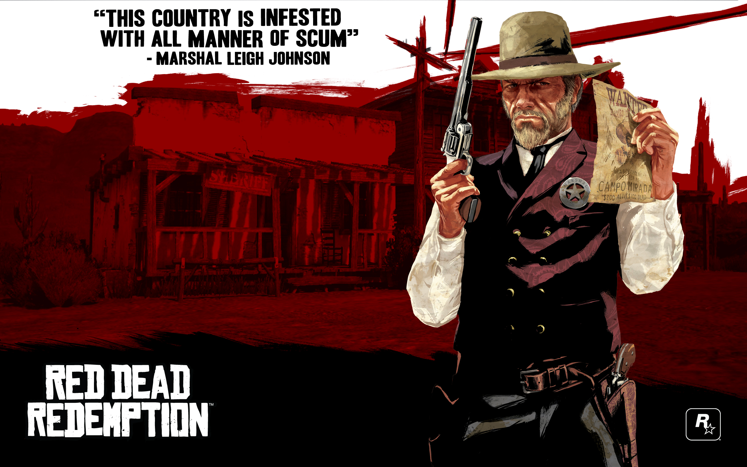 Downloads Rockstar Games - Red dead redemption us marshal outfit map