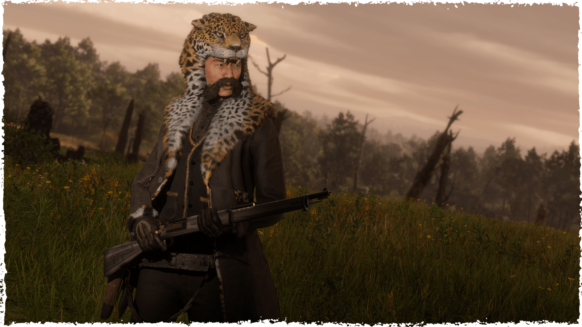 Le manteau Iwakta dans Red Dead Online