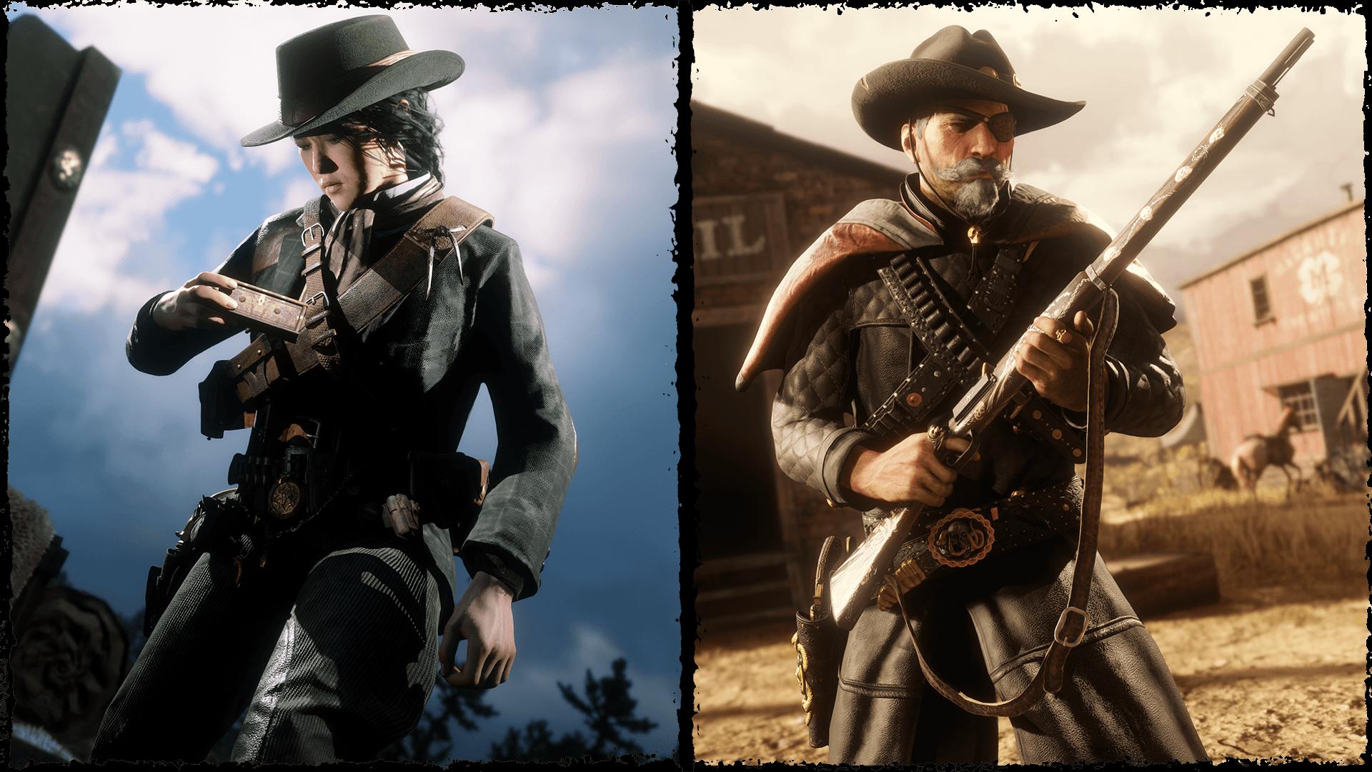 Red Dead Online :deux rôles à l'honneur, le collectionneur et le chasseur de primes